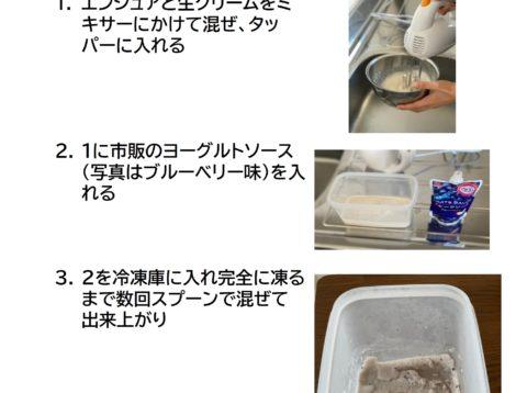 エンシュアのアレンジレシピ